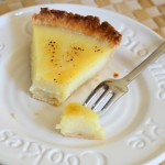 Bourbon & Vanilla Bean Custard Pie