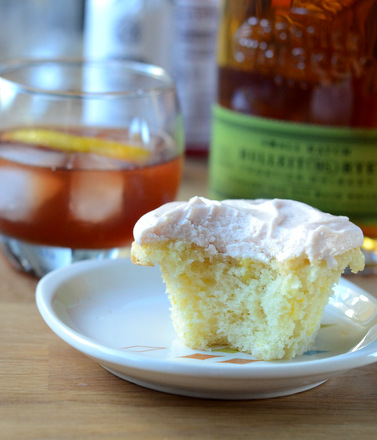 Old Fashioned Cocktail Cupcakes