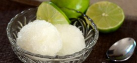 Three Ingredient Lime Sorbet