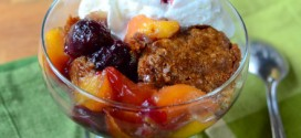 Brown Sugar Cobbler with Nectarines & Cherries