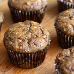 Whole Grain Harvest Carrot Muffins