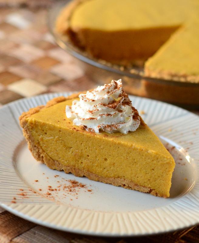 Pumpkin Chiffon Pie - Baking Bites