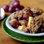 Apple and Red Grape Crisp