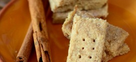 Pumpkin Pie Spiced Shortbread