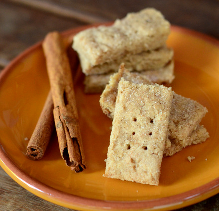 Pumpkin Pie Spice Shortbread