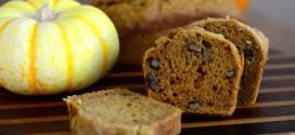 Mini Gluten Free Pumpkin Pecan Breads