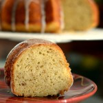 Apple Vanilla Bean Bundt Cake
