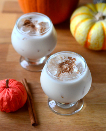 Pumpkin Spice Milk Punch