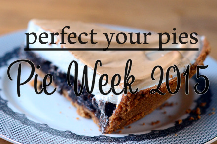 Baking Bites' Pie Week 2015