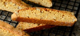Brown Sugar Walnut Biscotti