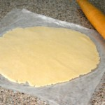 How to Roll Out A Pie Crust Between Sheets of Wax Paper
