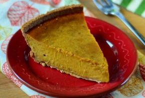 The Easiest Pumpkin Pie: Pumpkin Pie with Sweetened Condensed Milk