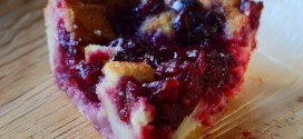Crazy Crust Cranberry Sauce Pie