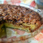 Orange Pecan Chess Pie