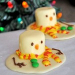 Melted Snowman Chocolates