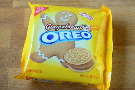 Gingerbread Oreos, reviewed