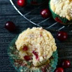 Roasted Cranberry Coconut Muffins