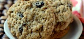 Bourbon Oatmeal Raisin Cookies