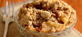 Oatmeal Pecan Apple Crumble