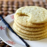 Big, Chewy Vanilla Sugar Cookies