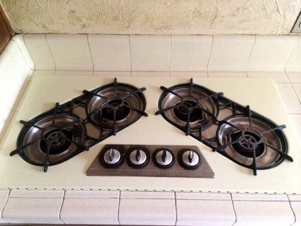 O'Keefe & Merrit 1960s Gas Cooktop