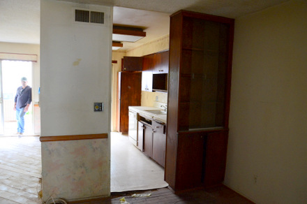 Original Condo Kitchen
