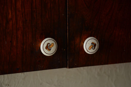 1970s Kitchen Knob Detail