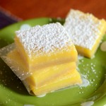 The Best Sour Cream Lime Bars