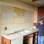 Baking Bites Kitchen Reno - Taking Down the Cabinets