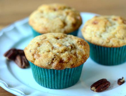 Butter Pecan Muffins
