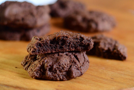 Intense Dark Chocolate Cookies