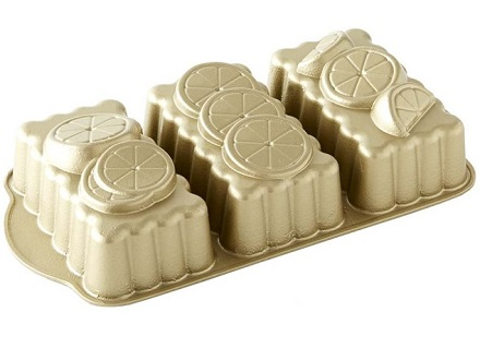 Nordic Ware Mini Citrus Loaf Pan Baking Bites