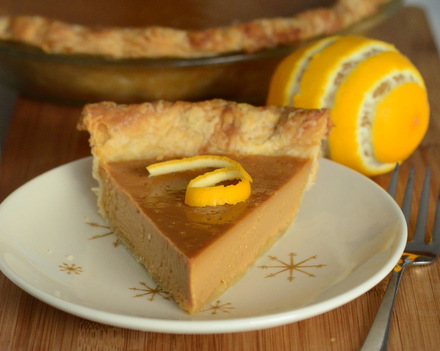 Caramel Lemon Pie