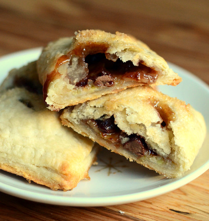 Chocolate Banana Hand Pies