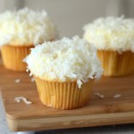 The Best Fluffy Coconut Cupcakes