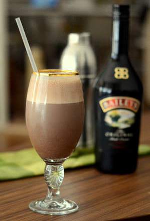 Bailey's Irish Cream Egg Cream