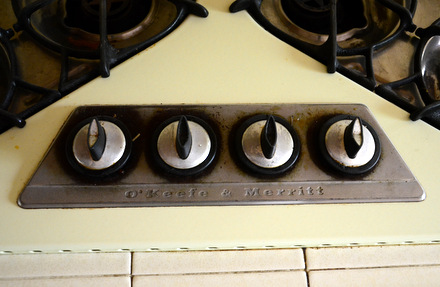 Un-Refinished O'Keefe & Merrit Cooktop