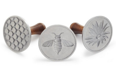 Nordic Ware Bee Cookie Stamps
