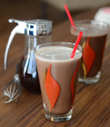 Homemade Chocolate Egg Cream