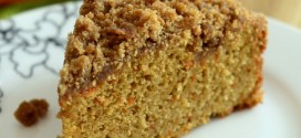 Carrot Cake Coffee Cake with Cinnamon Streusel