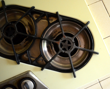 Un-Restored O'Keefe & Merrit Cooktop