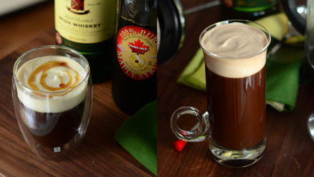 How to Make Irish Coffee, Two Ways