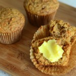 Baking Bites for Crafty: One Bowl Carrot Cake Muffins