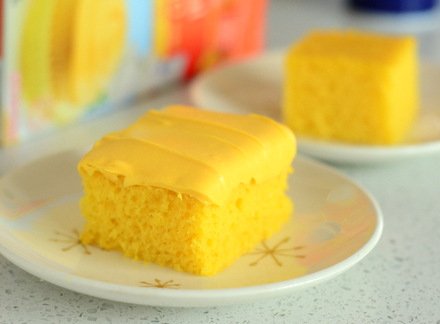 Pillsbury Tropical Mango Cake Mix, reviewed