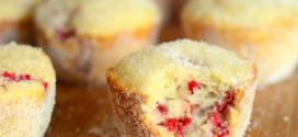Raspberry Donut Muffins