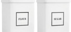 Martha Stewart Vintage-Inspired Flour & Sugar Container Giveaway!