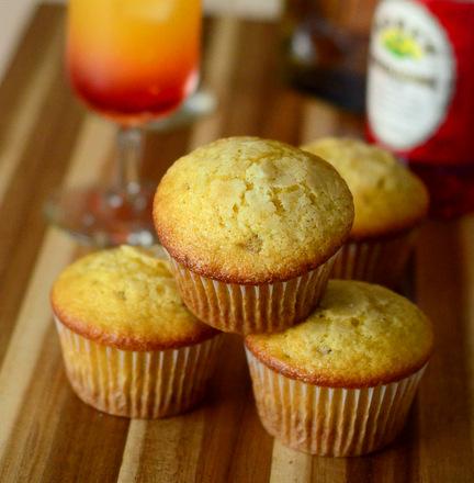 Tequila Sunrise Muffins