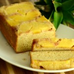 Pineapple Upside Down Loaf Cake