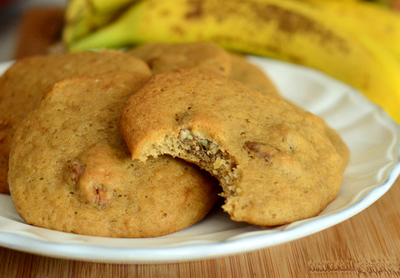 Banana Nut Bread Cookies