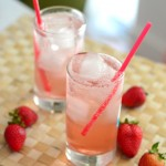 Homemade Strawberry Sodas
